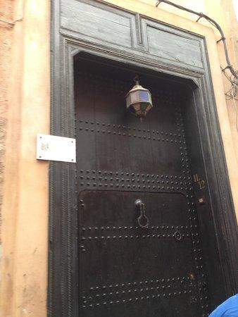 Riad Dar Darma: Front Door