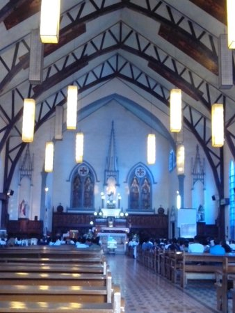Immaculate Conception Cathedral : Inside Church