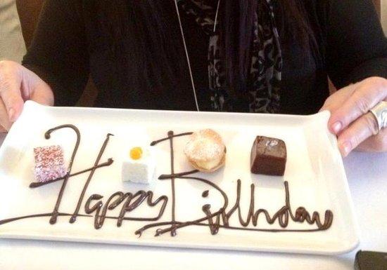 Thackeray's: Happy Birthday Plate