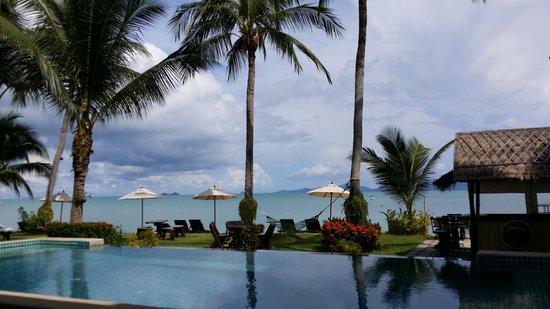 Baan Bophut Beach Hotel: the pool
