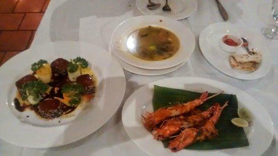 Old Harbour Hotel Restaurant: food