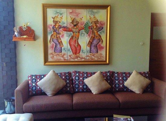 D'Djabu Hotel: Lobby lounge