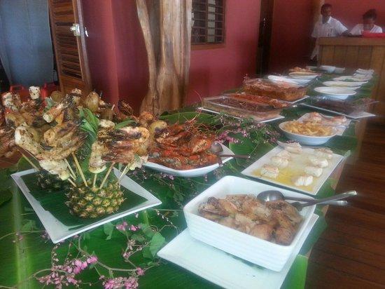 Nosy-Be Lodge: Sunday buffet
