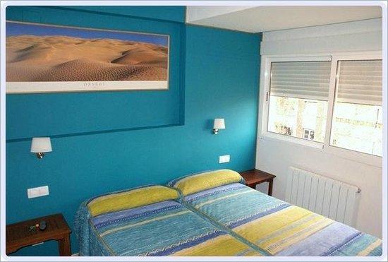 B&B Siesta: Habitación con dos camas