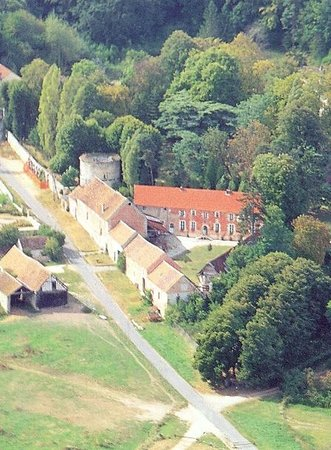 La Ferme Rose : View from the air