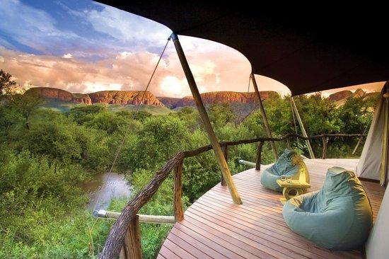 Thabazimbi, Südafrika: Lodge and grounds