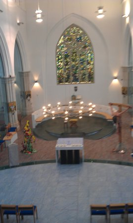 St Peter and The Holy Apostles: View from gallery