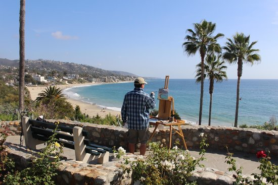 The Inn At Laguna Beach: Wonderful views just outside of the hotel
