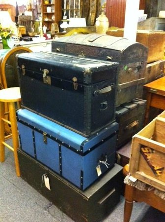 Twice Upon a Time: Steamer trunks