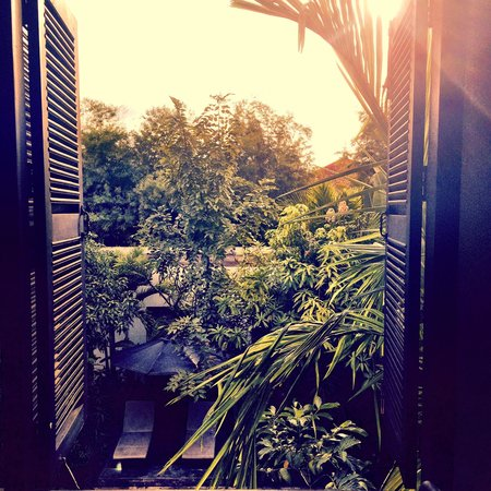 Bunwin Boutique Hotel : Morning breakfast view
