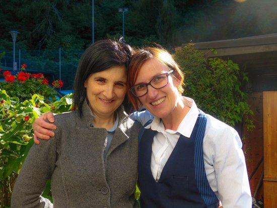 Eremita-Einsiedler: Grazia e Rosi, die