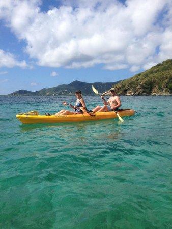 Hidden Reef Eco-Tours: Nice day to kayak