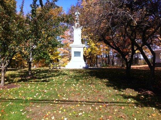 Brattleboro Common: The monument