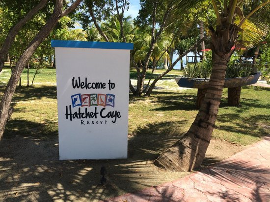 Hatchet Caye Resort: Hackeet Caye