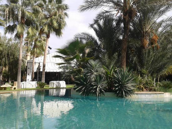 Lodge K : piscine
