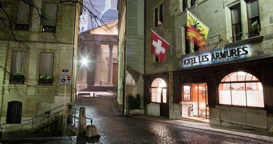Hotel Les Armures: Geneva, Old Town