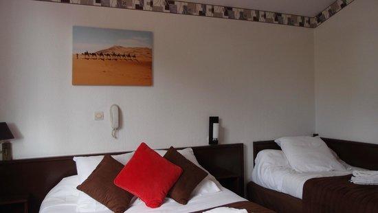 L'Emeraude des Bois: Our room