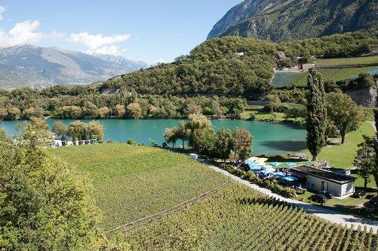 Sierre, Ελβετία: Vue générale