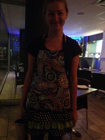 Amici Restaurant Pizzeria : The quirkiest apron's worn by fantastic staff