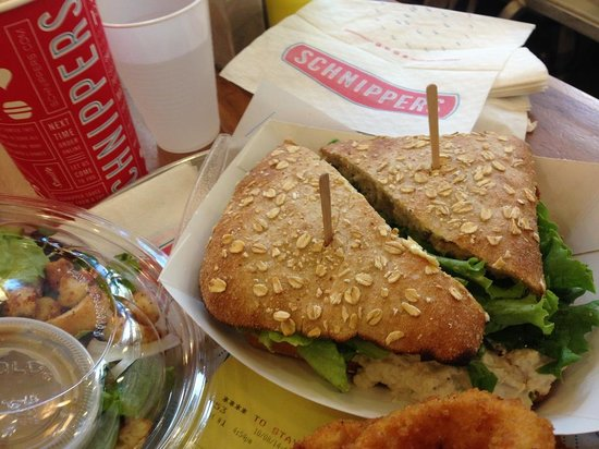 Schnipper's Quality Kitchen: Schnipper's Sandwich