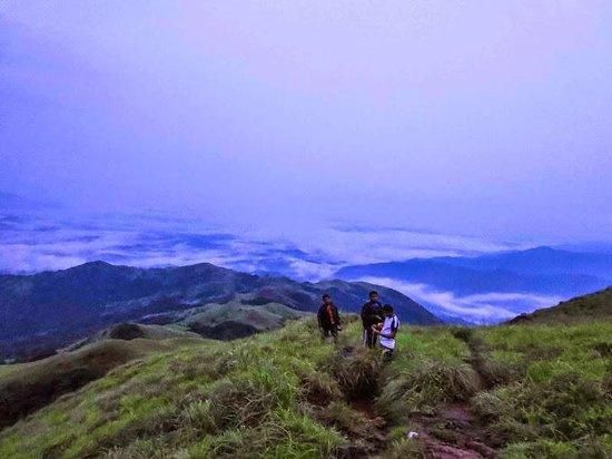 Kumara Parvatha: At the top