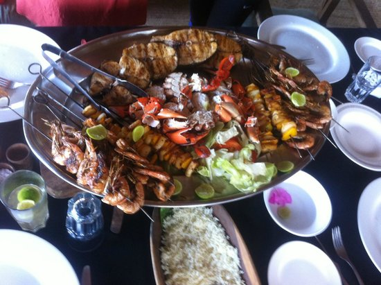 Che Shale: Seafood platter