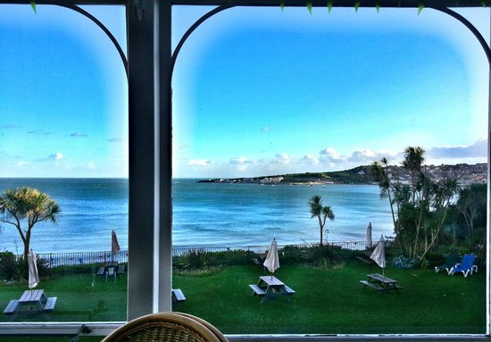 Grand Hotel Swanage: Can't beat the view