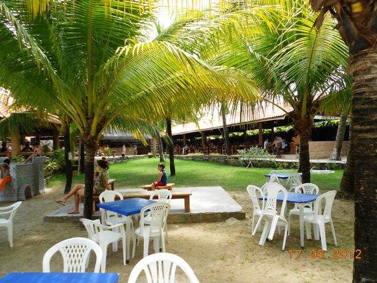 Piscinas Naturais Paripueira - Alagoas : comidas muito boas, os preços que não são muito em conta!!