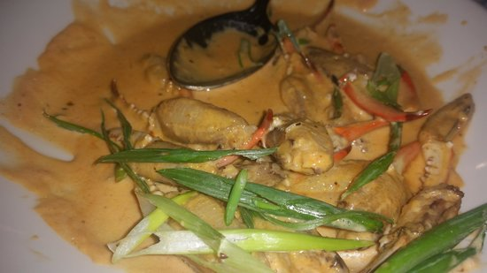 BBQ crab claws in Creole butter sauce