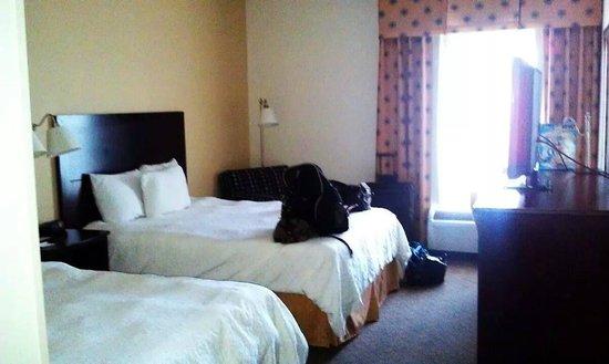 Hampton Inn Asheboro : 2 bed room