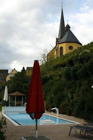 Hotel Winzerverein: Pool terrace