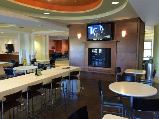 SpringHill Suites Columbia Downtown/The Vista : Breakfast lounge area