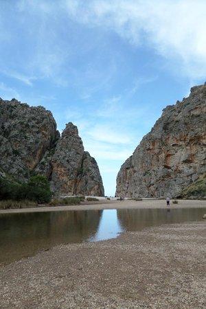 Canyon de la Calobra: canyon