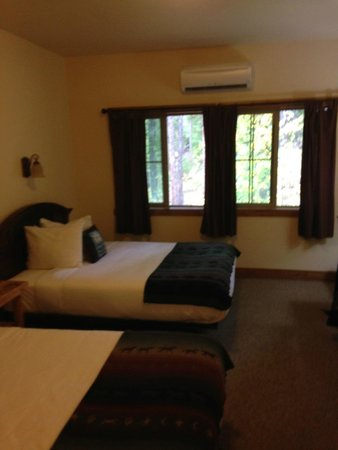 Glacier Guides Lodge : our spacious, clean room