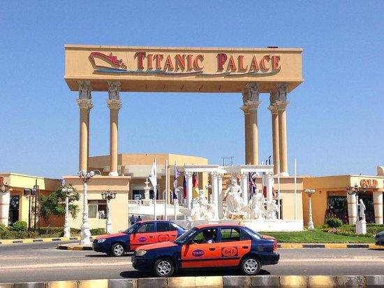 Titanic Palace: entrata