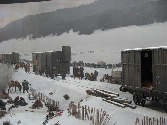 Bourbaki Panorama: Panaromic picture