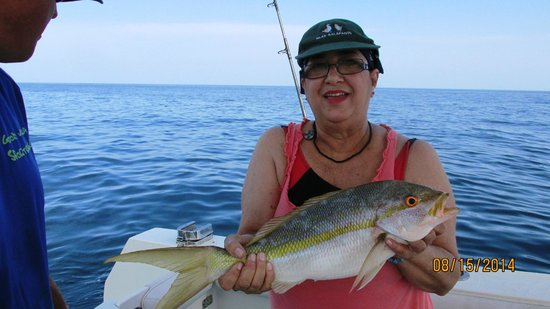 Creekside Inn Islamorada: FISHING WITH CAPITAN RECOMENDED BY THE HOTEL MANAGER