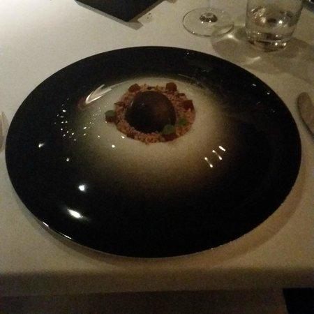 Ciel Bleu Restaurant: Foie gras et chocolat