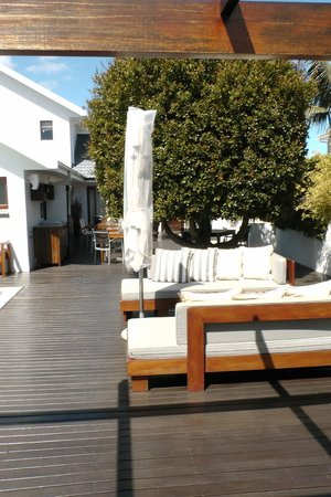 Beluga House: Blick zum Frühstücksbereich