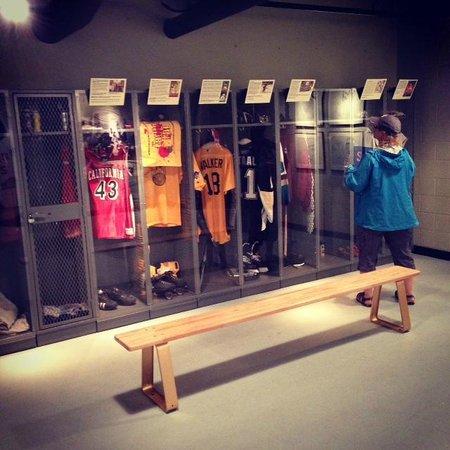 Senator John Heinz History Center: Sports Locker Room