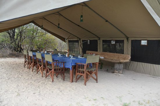 Pioneers Camp: Dining Area