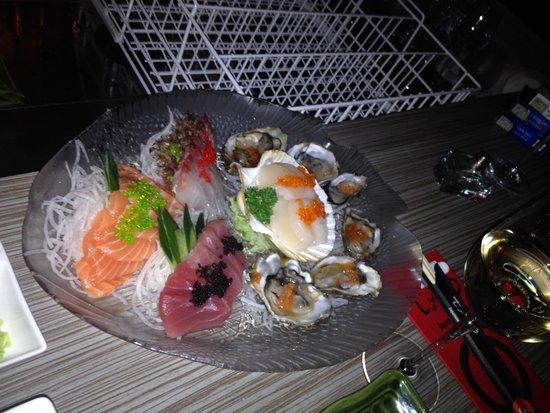 Restaurant TAO: Sashimi platter
