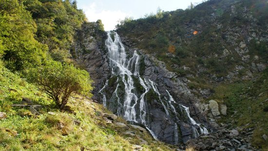 Fagaras, Romania: Capra waterfall