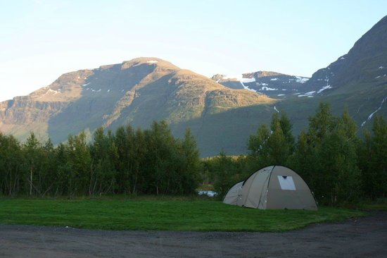 Strandbu Camping : Nice place for a tent