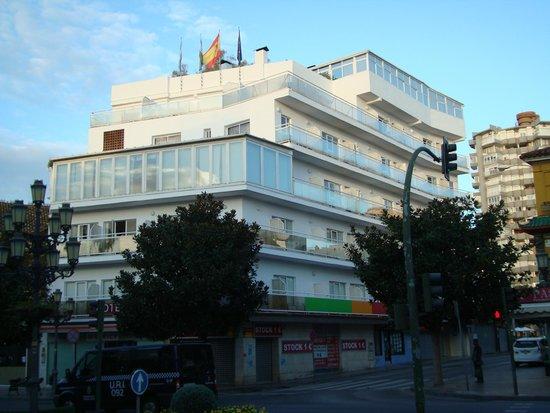 Adriano Hotel Torremolinos: Вид на отель