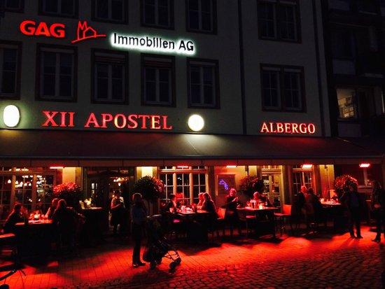 XII Apostel Albergo Hotel: Aussenansicht Hotel XII Apostel Albergo Köln