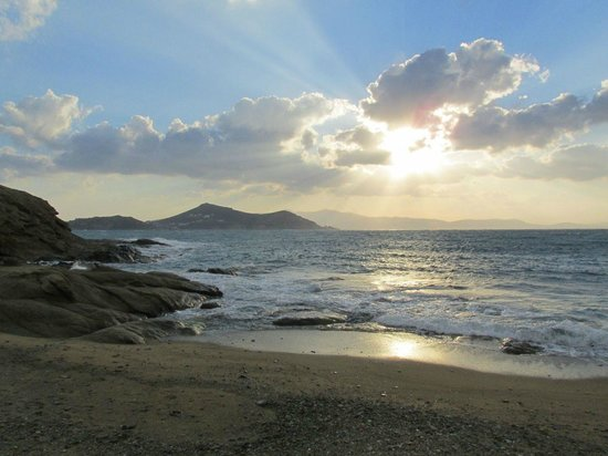 Windmill Naxos: Naxos beach