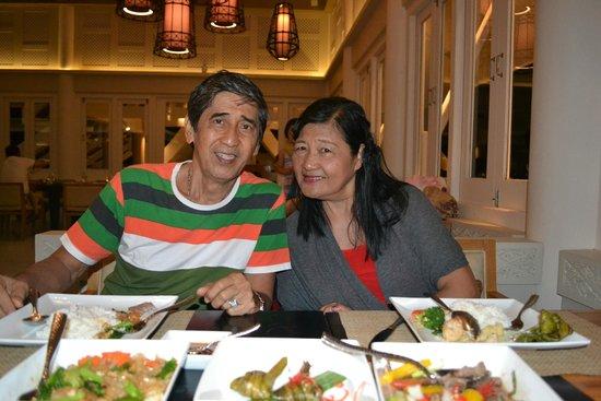 Baan Thalay Restaurant, Angsansa Laguna Resort: the food