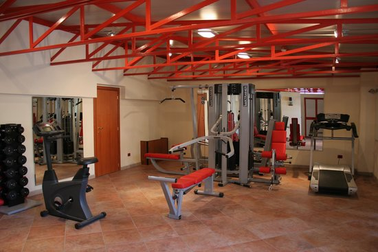 Adria Hotel Bari: palestra