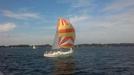 Lake Norman: Racing in the Leukemia Cup Regatta!